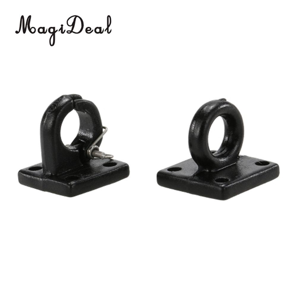 MagiDeal Metal Pintle Hook Lunette Ring Trailer Hitch for 1/10 RC4WD D90 SCX10 Rock Crawler RC Car Truck Remote Control Part ...
