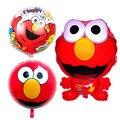 3pcs/lot Elmo globos Sesame Street foil balloons air balls happy birthday Balloons helium balloon inflatable toys party supplies