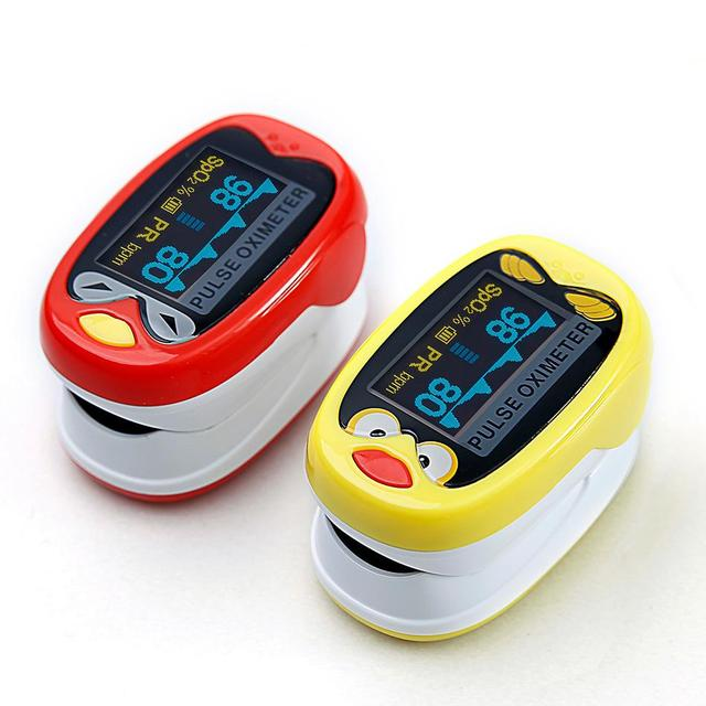Freeshiping Medical Infant Finger Pulse Oximeter Pediatric SpO2 Blood Oxygen Saturation Meter Neonatal children kid Rechargeable