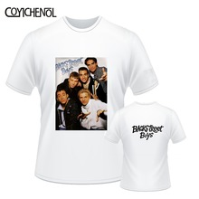 Backstreet Boys oversized customize print tshirt men regular tops large size funny design tee homme modal short sleeve