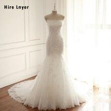 HIRE LNYER 2019 Strapless Mermaid Wedding Dresses
