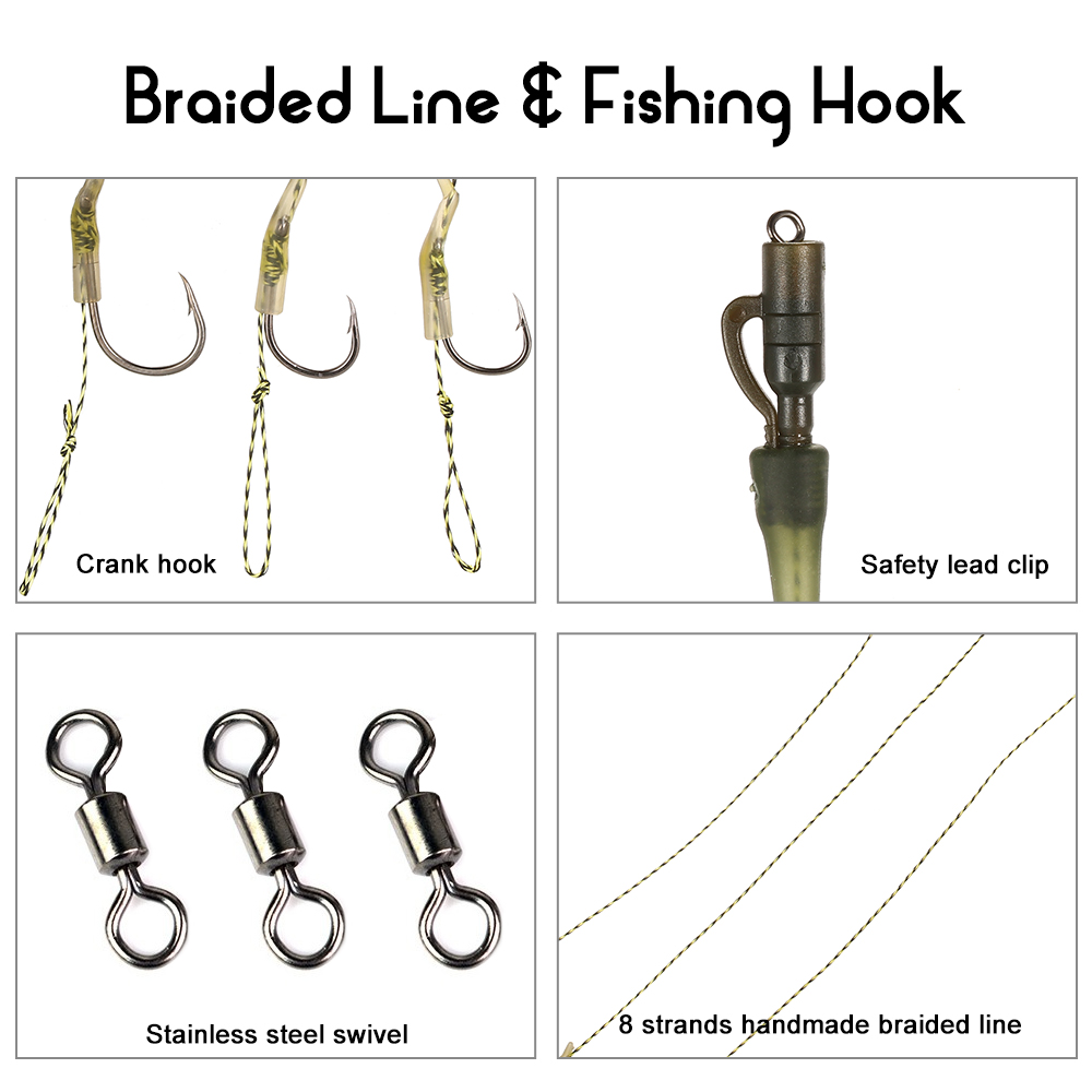Haste Gancho De Pesca com Linha de