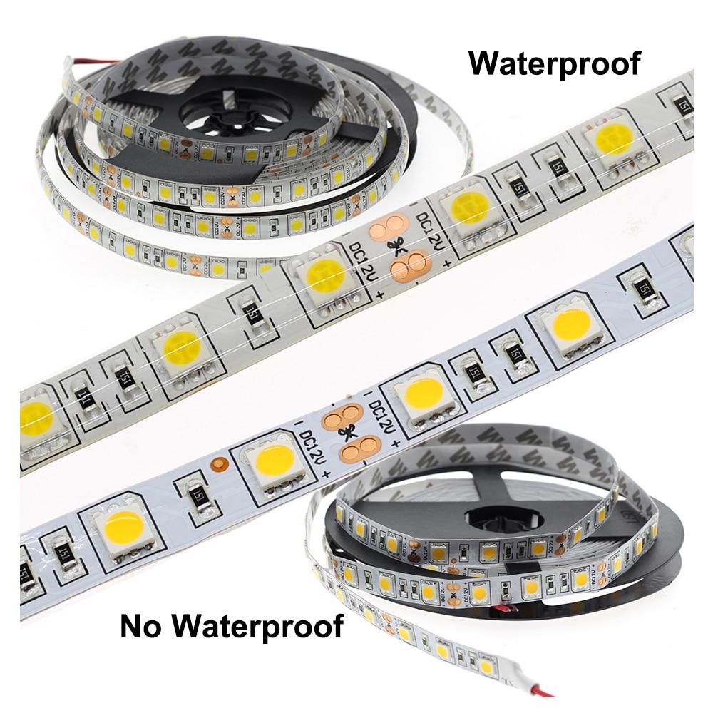 LED Strip 5050 DC12V 60LEDs m Flexible LED Light RGB RGBW 5050 LED Strip 300LEDs 5m LED Strip 5050 DC12V 60LEDs/m Flexible LED Light RGB RGBW 5050 LED Strip 300LEDs 5m/lot