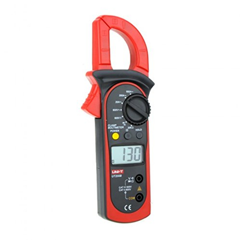 UNI-T UT200B Digital Clamp Meters LCD Backlight AC/DC Voltage AC Current Resistance clamp multimeter multitester multimetro