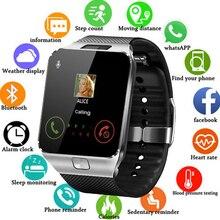 2019 Bluetooth New Smart Watch DZ09 Smartwatch TF SIM Camera Men Women Sport Wristwatch for Samsung Huawei Xiaomi Android Phone все цены