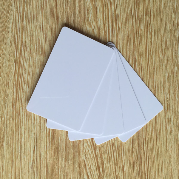 50pcs/lot RFID 4k Blank NFC card thin pvc card 13.56MHz ISO14443A smart IC cards key card door entry systems