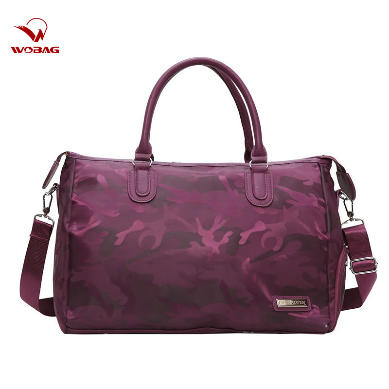 Wobag 2019 Fashion Short-distance Travel Bag Oxford Waterproof Large Capacity Men Women Duffle Bag Camouflage Hand Luggage Bag