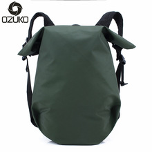 Ozuko Brand Waterproof Laptop Backpack for Men Women Backpacks Teenage Girls Travel Bags Male School Shoulder Bag