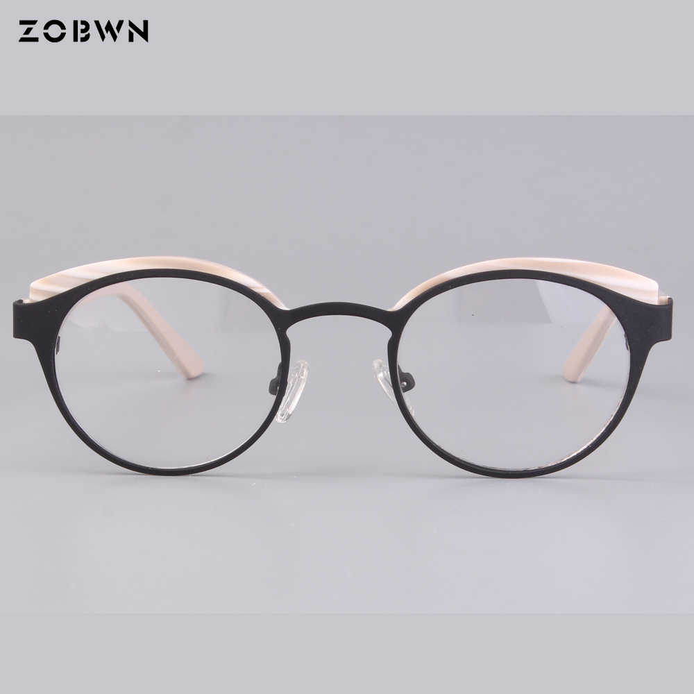 7a42035da35 High Quality Child Glasses metal Frame Eyeglasses Girl Boy Optical Frames  Student Myopia Eyewear 8-