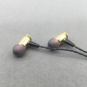 Image 2 - Yeni 1DD Dinamik DIY Bullet Kulak Içi Kulaklık Kişiselleştirilmiş Değiştirilebilir Çıkarılabilir Spor Müzik iphone için kulaklık Samsung Xiaomi