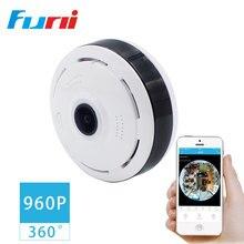 Фотография HD FishEye IP camera wi-fi 360 Degree WiFi Camera 1.3MP Home Security Camera Panoramic IR Surveillance Camera