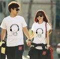Womens Cute Kawaii Music Doll Emoji Print T Shirt Women T-shirt Novelty Top Tee Woman Tshirt Clothing Lover Couple Clothes