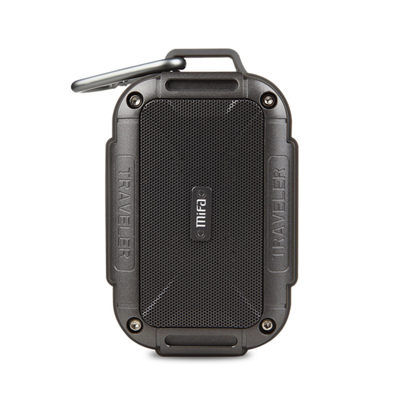 MIFA F7 Bluetooth Haut-Parleur IP56 Étanche À La Poussière Étanche À L'eau Haut-parleurs AUX Portatif Sans Fil Haut-parleurs Extérieurs En Métal Barre De Son Haut-Parleur