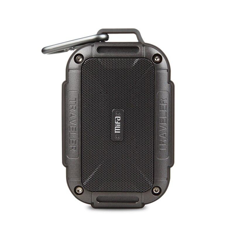 MIFA F7 Bluetooth Haut-Parleur IP56 Étanche À La Poussière Preuve de L'eau AUX Haut-parleurs Sans Fil Portable Haut-parleurs Extérieurs Métal Barre De Son Haut-Parleur