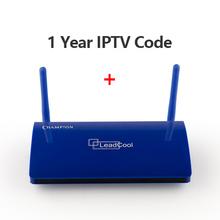 Leadcool QHDTV IPTV Francja Box 1 rok kod IPTV Hiszpania francuski Belgia Holandia Android 7 1 TV Box arabski Francja IPTV Top Box tanie tanio 8GB eMMC 1G DDR3 650g Leadcool QHDTV arabski Francja Android 7 1 IPTV Box 100M Zawarte z dalletektv PRĄD STAŁY 5V 2A