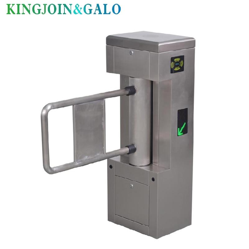 one lane smart automatic swing gate barrier access control systemone lane smart automatic swing gate barrier access control system