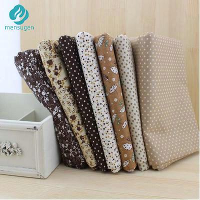 Nửa mét Chiều Rộng 150 cm Nâu Vải Cotton May Tissus Telas để Chắp Vá Tilda Vải Búp Bê Búp Bê Trang Trí Thủ Công Chất Liệu Vải