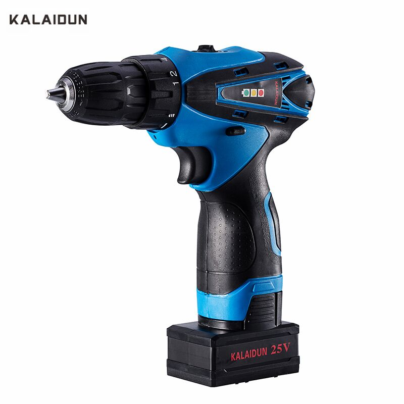 цена на KALAIDUN 25V Electric Drill Cordless Drill Power Tools Mini Drill Home Multifunction Electric Screwdriver