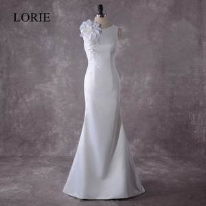 afe3b07d4cc LORIE Mermaid Wedding Dresses 2018 Bridal Dress with Gowns