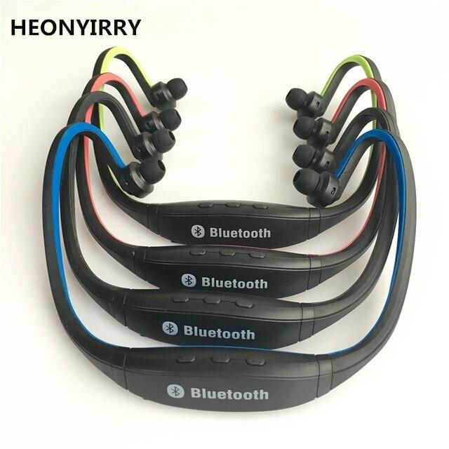 Heonyirry S9 Sport Bluetooth Earphone Plus Sd Card Slot