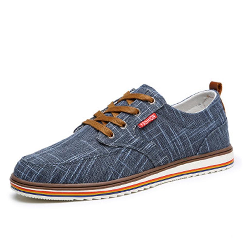 Tamaño Up Hui Para China De Zapatos Lona Lace qian 2018 Baratos Venta Hombre Shen Hui Transpirable Lujo Nuevo Lan Diseñador Grande Hombres Marca shen Swxpzg5