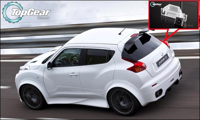 Câmera do carro Para Nissan JUKE 2011 ~ 2015 de Alta Qualidade câmera de Visão Traseira de Volta até Câmera Para Top Gear Fãs Uso | CCD + RCA