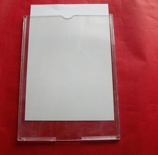 Acrylic Photo Frame A4 Card Organic Plastic Transparent