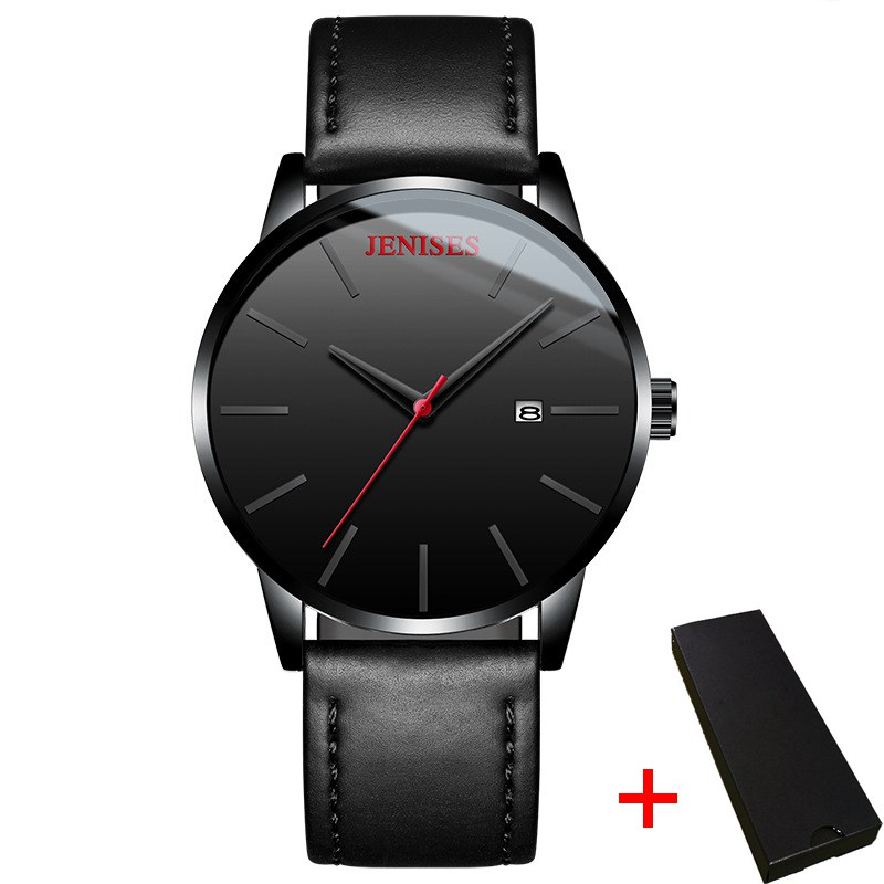 Quartz Watches Men Top Brand Luxury Business Waterproof Leather Wrist Watch Men Clock Male relogio masculino erkek kol saati high quality men s genuine leather band watches business sport analog quartz wrist watch mens watches top brand luxury kol saati