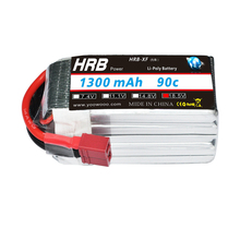 HRB FPV Racing Lipo Battery 5S 18.5V 1300mah 90C with Amass XT60 For Helicopter DIY RC CAR AKKU Drone