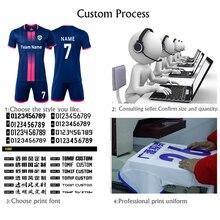 Индивидуальные мужские футбольные майки, детские футбольные формы, мужские детские баскетбольные майки, стоимость номера, имя, логотип, спонсор