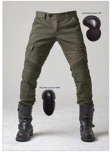 Uglybros MOTORPOOL UBS06 досуг джинсы джинсы зеленый армия двигатель мотоцикла