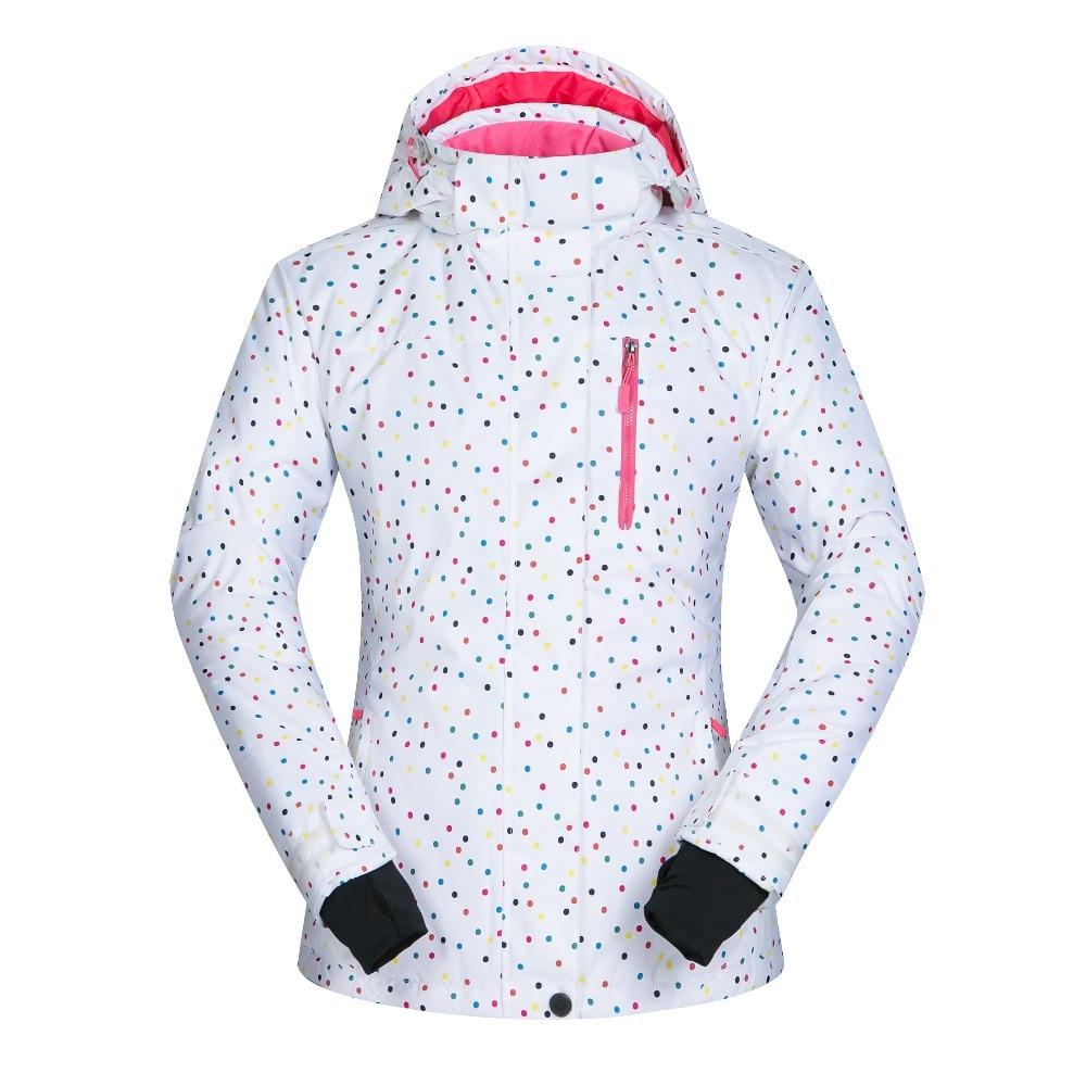 Prix pour Femmes Ski Veste Coupe-Vent Imperméable Respirant Épaissir Vêtements Pour Femmes Snowboard Neige Ski Manteau Vêtements D'hiver-20-30 degré