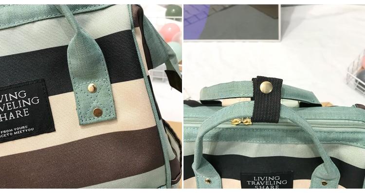 HTB1z47zUhnaK1RjSZFtq6zC2VXa3 2019 Korean Style Women Backpack Canvas Travel Bag Mini Shoulder Bag For Teenage Girl School Bag Bagpack Rucksack Knapsack