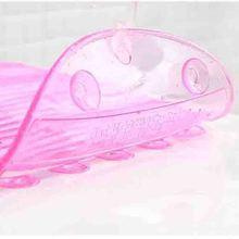 Складная доска для стирки конфетного цвета, Силиконовая Овальная мини-моечная доска, инструмент для мытья ванной комнаты