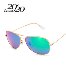 20/20 Brand New Fashion Women Polarized Sunglasses Men Aviator Metal Frame Sun Glasses Eyewear Oculos De Sol