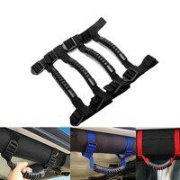 MALUOKASA Grab Handles Rear Seat Grip Black For Jeep Wrangler YJ TJ JK JKU Sports Sahara