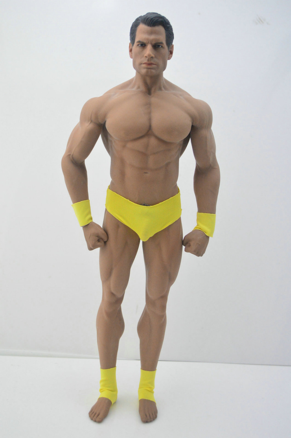 DIY 1/6 Scale Superman Henry Cavill Action Figure Head Phicen Male Body-in Action & Toy Figures from Toys & Hobbies    1
