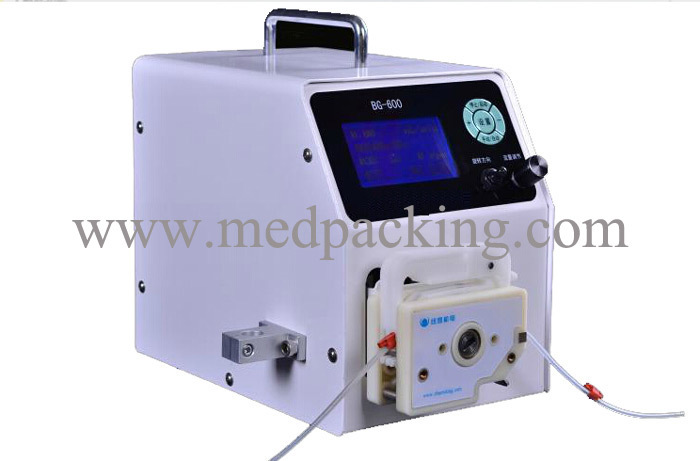 BG-600DG1 (semi) automatic liquid filling pump titration, packaging,Precision filling machines