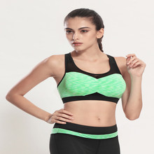 Women s Sports Mesh Bra Sexy Yoga vest for Gym Running font b Fitness b font