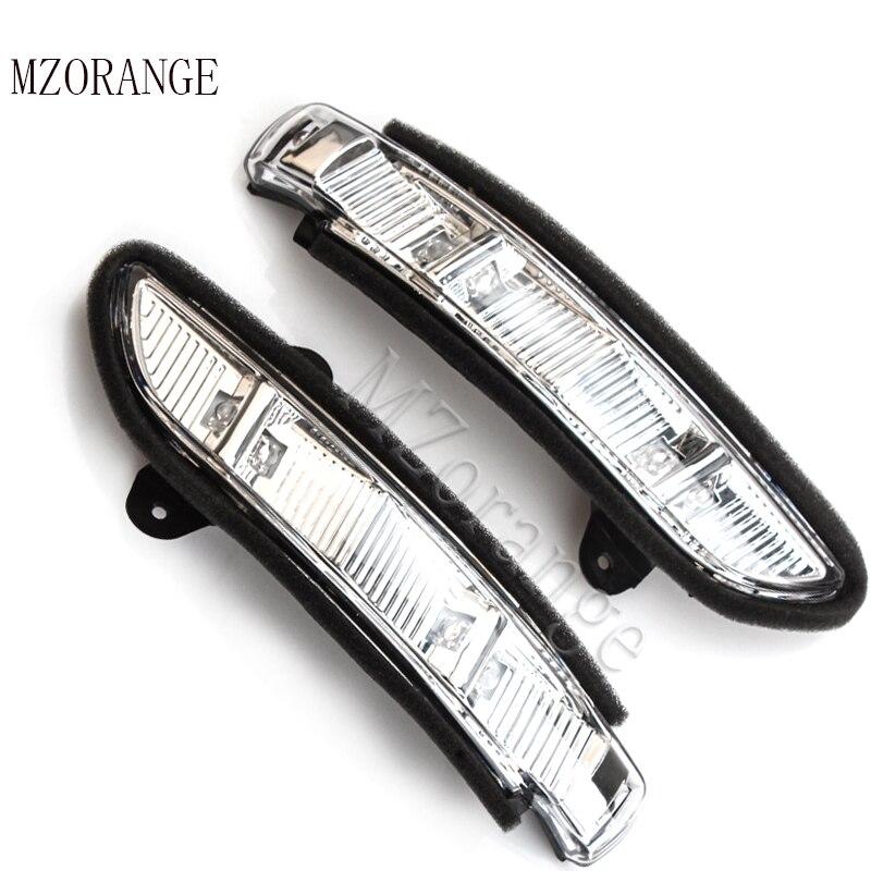 Pour Mercedes-Benz W211 W221 W219 2007-2011 E320 E350 E550 E63 S600 S550 vue Arrière Latérale Miroir clignotants LED Lumière Répéteur