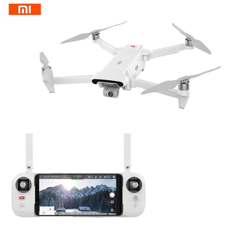 Xiaomi FIMI X8 SE 5KM FPV con cardán de 3 ejes 4K Cámara GPS 33 minutos tiempo de vuelo RC Quadcopter Dron plegable RTF profesional