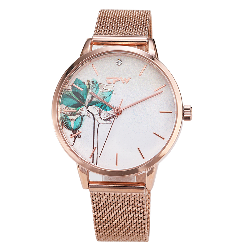 High Quality Fashion Leather Strap Rose Gold Women Watch Casual Love Heart Quartz Wrist Watch Women Dress Ladies Luxury Watches duoya fashion luxury women gold watches casual bracelet wristwatch fabric rhinestone strap quartz ladies wrist watch clock