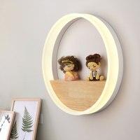 Modern LED Wall Lamp AC110 240V12W Bedroom Bedside Living Room Dining Room Hallway Lighting Decoration Creative