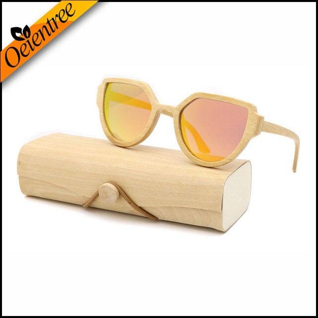 Usine Vente Directe Lentille Polarisée Bambou lunettes de Soleil Femmes D origine  lunettes De Soleil 0e76dede12d6
