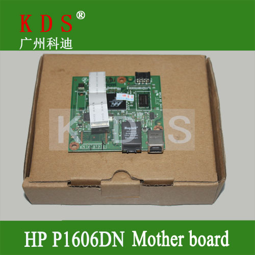 Original matherboard for HP P1606DN formatter board for HP laser printer parts CE671-60001 remove from new machine original matherboard for brother mfc7340 formatter board for brother 220v only lt226001 remove from new machine