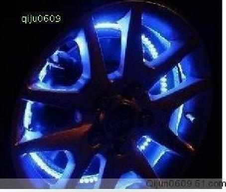 Car rim lights wheel lights tyre light net lights decoration led strip 72cm blue red green white & Online Shop Car rim lights wheel lights tyre light net lights ... azcodes.com