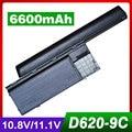 6600mAh Battery for dell Latitude d620 D630 D631 Precision M2300 312-0386 GD775 GD776 GD787 JD605 JD606 JD610 KD491 KD492 KD494