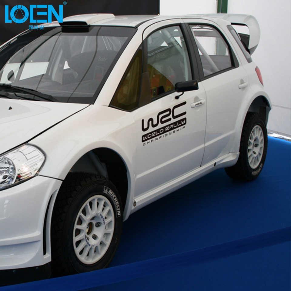 WRC del campeonato mundial de Rally de estilo de coche pegatina de vinilo reflectante de cuerpo Garland etiqueta para Audi se Mazda Lada