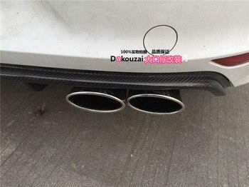 Cocok untuk Volkswagen Golf 7R RLINE carbon fiber Rear diffuser bumper belakang lip spoiler belakang