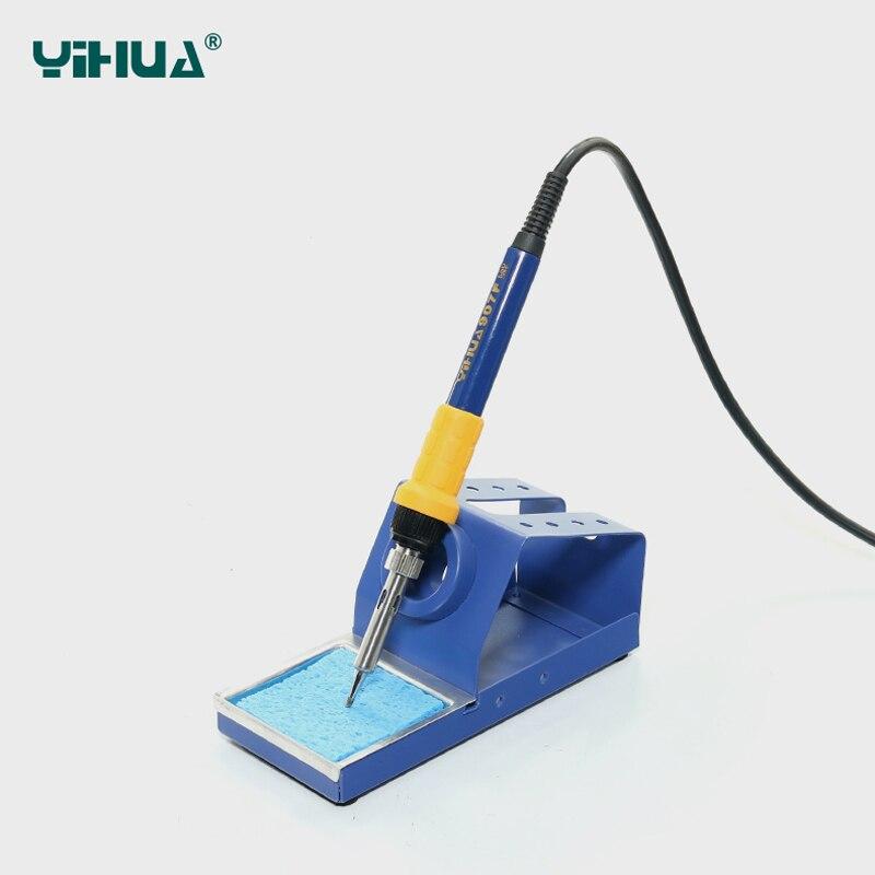 Prise EU YIHUA 852D + SE Station de soudure de pompe à diaphragme Air chaud importé Station de soudure de chauffage - 5